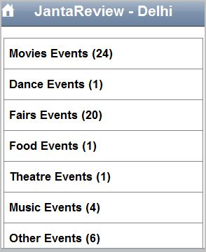 Search Event Listings